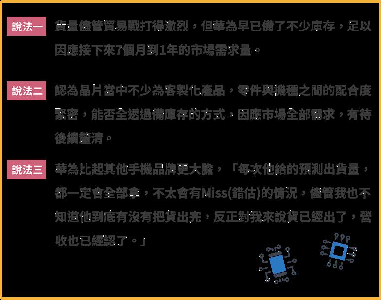 華為,手機晶片,聯詠,敦泰,矽創,驅動晶片,觸控晶片,感測晶片,射頻晶片,Skyworks,Qorvo,Avago,立積,瑞昱