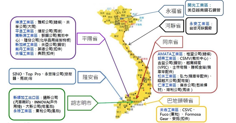 越南,貿易戰,零售業,內需,中產階級,人口紅利,鋼鐵業,世豐螺絲,泰昇-KY,不織布,戴朝榮,杜泰源,食品業,味王