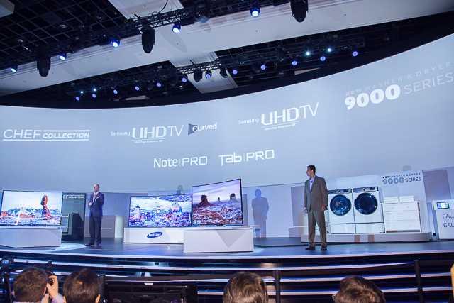 大型曲面电视成焦点,LG/三星同推105吋机种