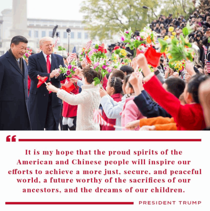川普稱中國經濟實力大減,習近平稱華盛頓應尊重北京