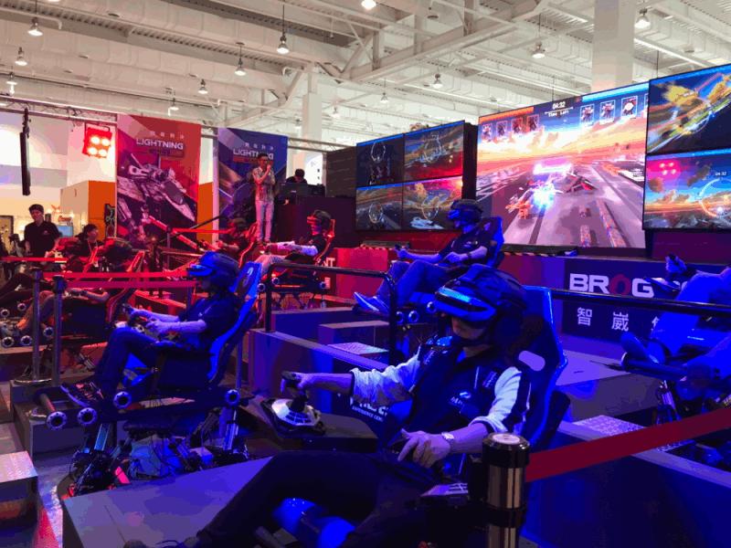 智崴推體感VR電競擂台《閃電對決》 首款多人體感遊戲