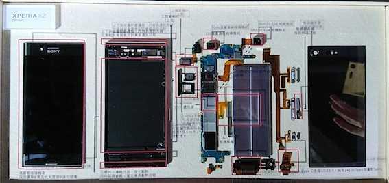 索尼xz premium拆解,散熱靠石墨片、並增天線